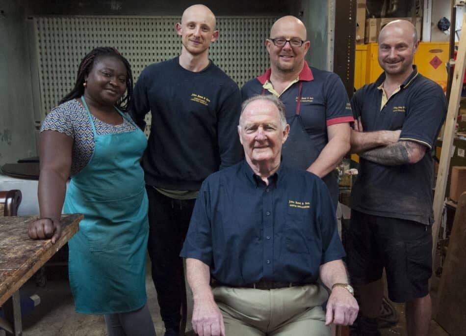 The John Reed & Son Team | Upholsterers | John Reed & Son